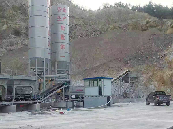 600吨稳定土拌合站